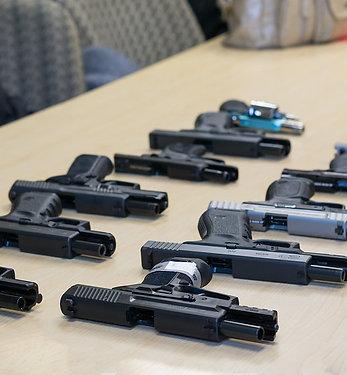 Pistol 1 Firearm Rental