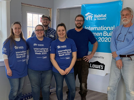 Habitat and Lowes partner for Women Build Week