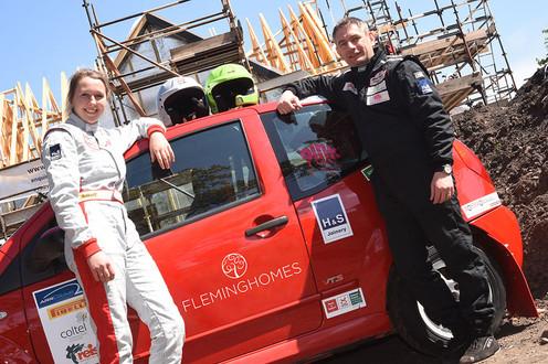 Me and Co-driver Richard Simmonds
