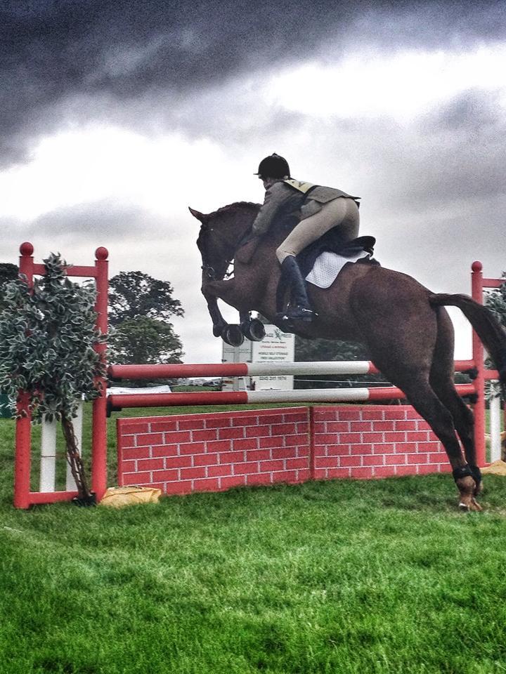 Alfie's action shot