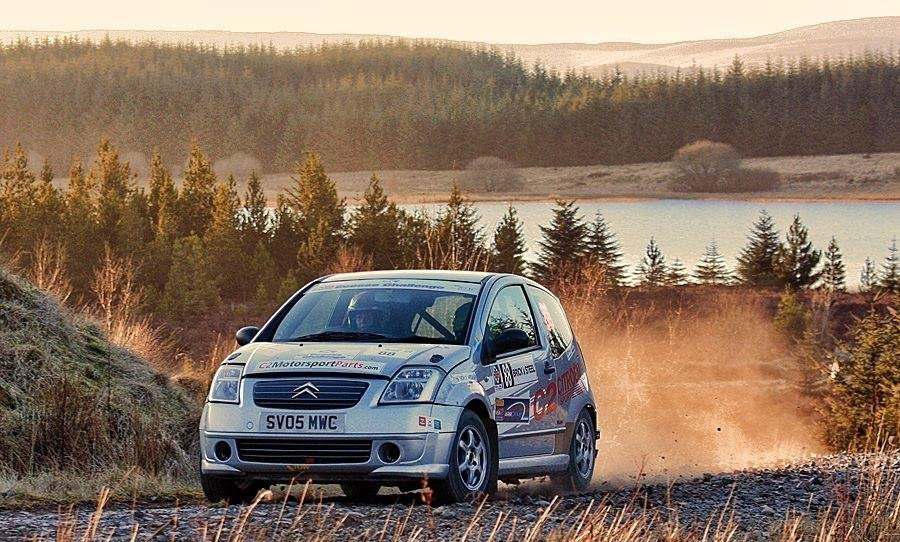My first Scottish Rally Championship season