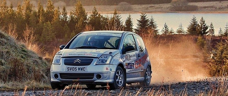 My first season in the Scottish Rally Championship