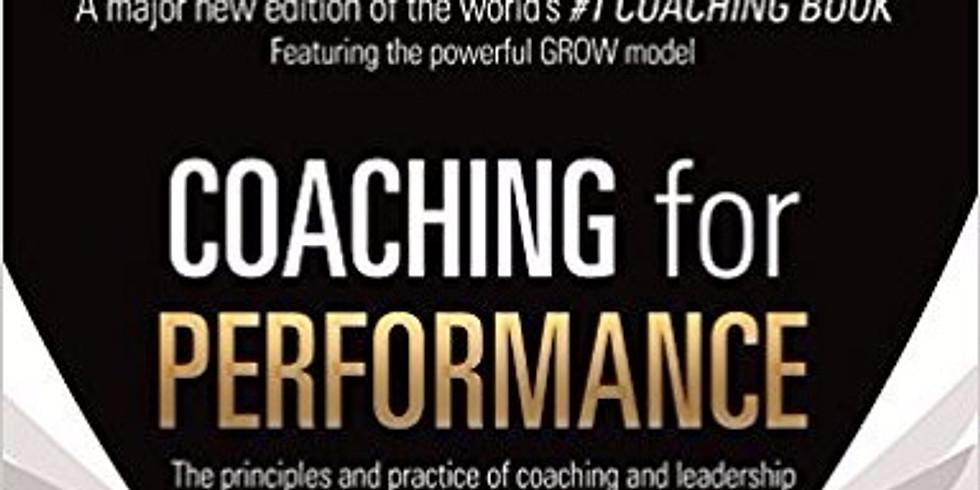 Nová kniha od sira Johna Whitmora - 25th Anniversary Edition of Coaching for Performance