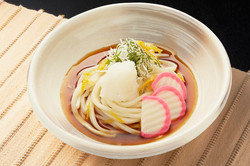 Udon with grated yuzu