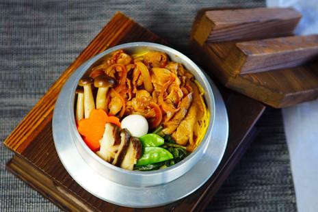 Pork Sukiyaki Gomoku Kamameshi.JPG