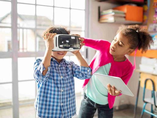 Descubra quais são os benefícios da realidade virtual para crianças