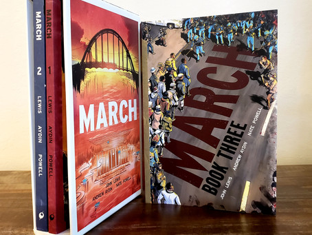 Essential reading: MARCH, books 1-3