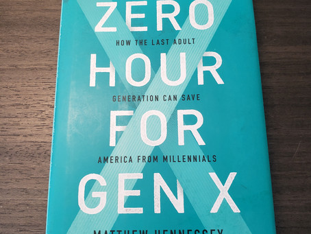 Book review: Lessons from 'Zero Hour for Gen X'