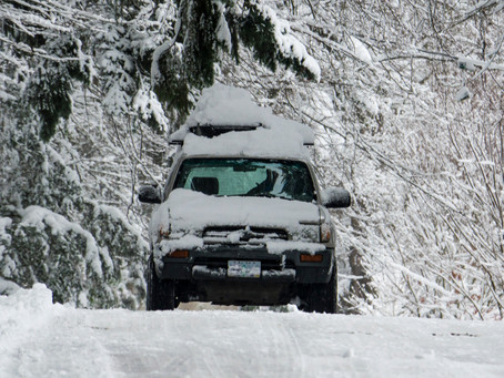 Three life lessons you can learn from driving in the snow