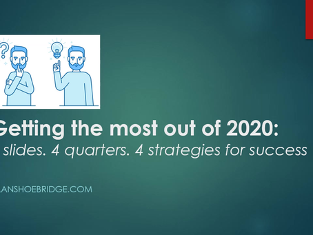 Four minutes. Four slides. Four strategies for success