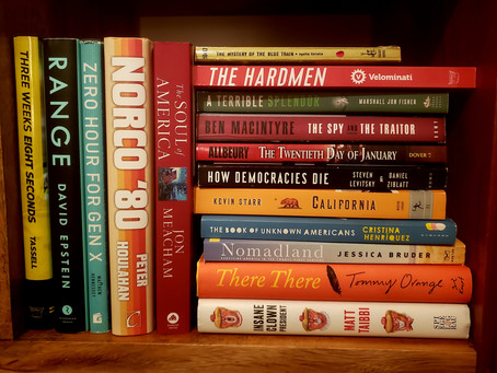 2019: My year in books