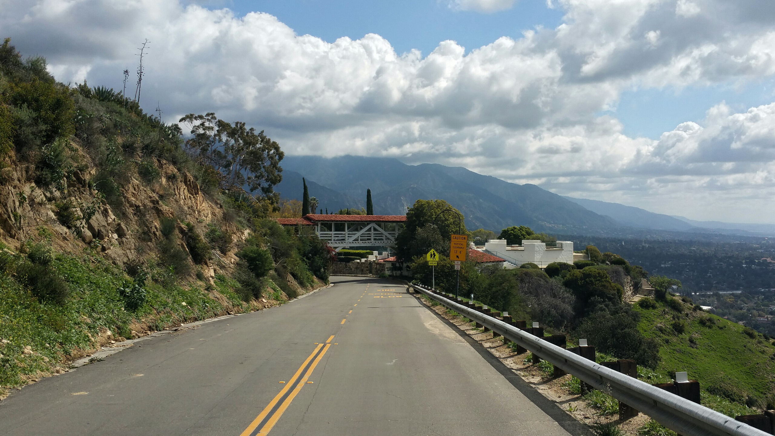 Riding the hills above Pasadena and La Canada is always a challenge.