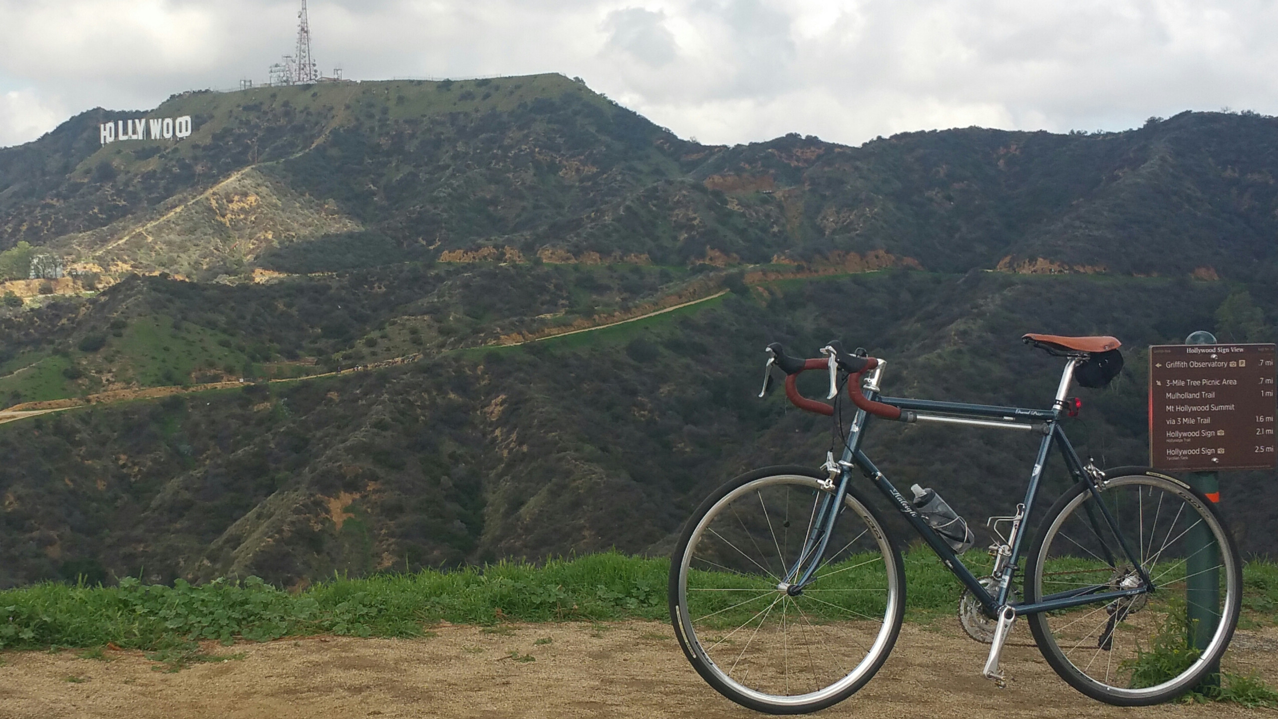 Griffith Park has some great roads to offer area cyclists.