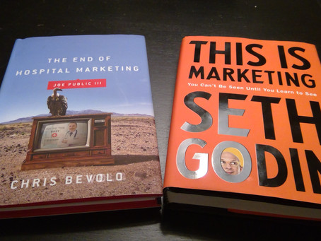 Two books to inspire and educate the healthcare marketer