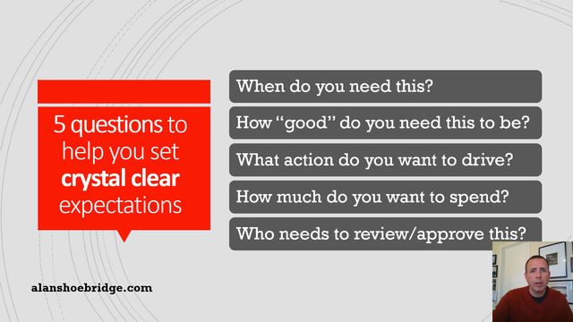 Building the fundamentals: 5 questions that help set crystal clear expectations