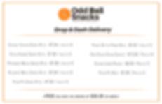 Freddy Bean Delivery Price List (ODD BAL