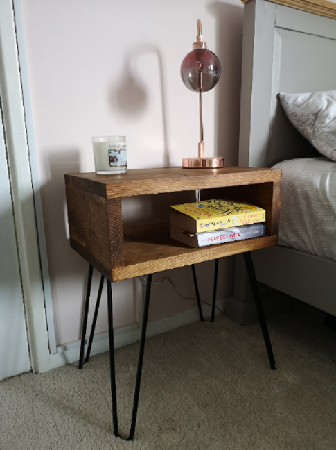 Rustic Bed Side Table / End Table