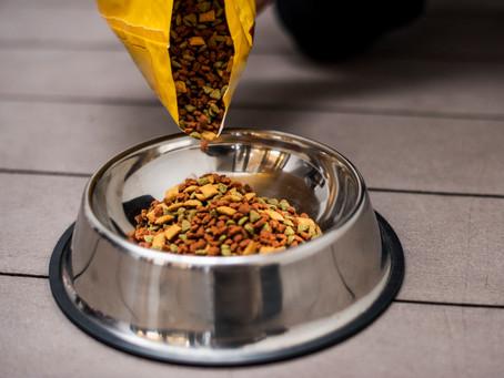 Quais são as melhores práticas em relação ao armazenamento de petfood e snacks para os animais?