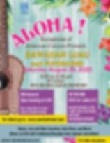 Copy of Aloha Hawaiian Luau Flyer Templa