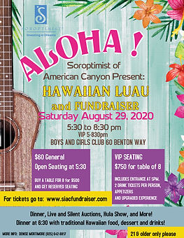 Copy of Aloha Hawaiian Luau Flyer Templa