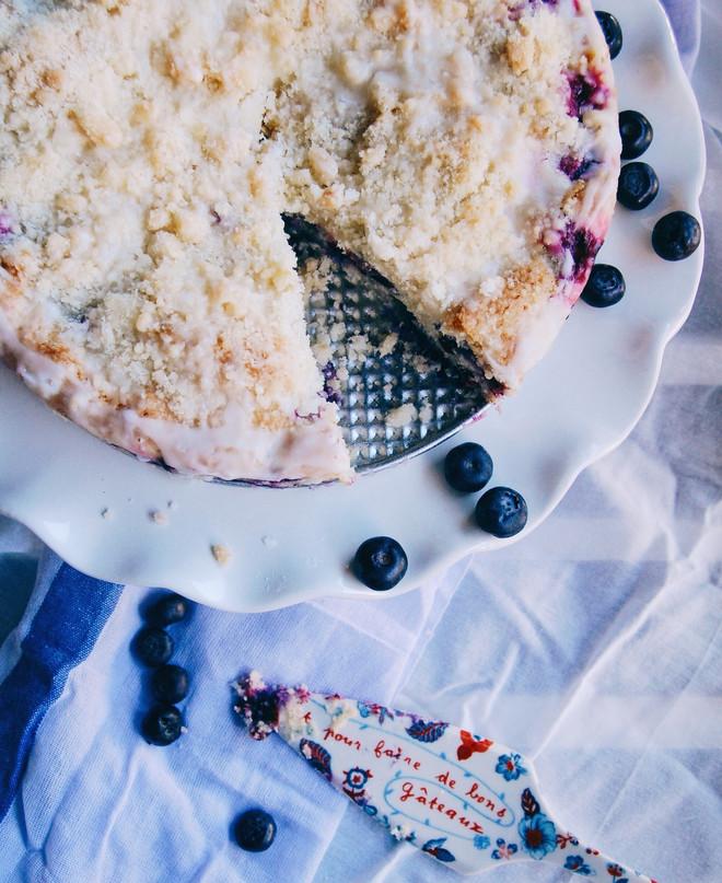 Lemon & Blueberry Coffee Cake