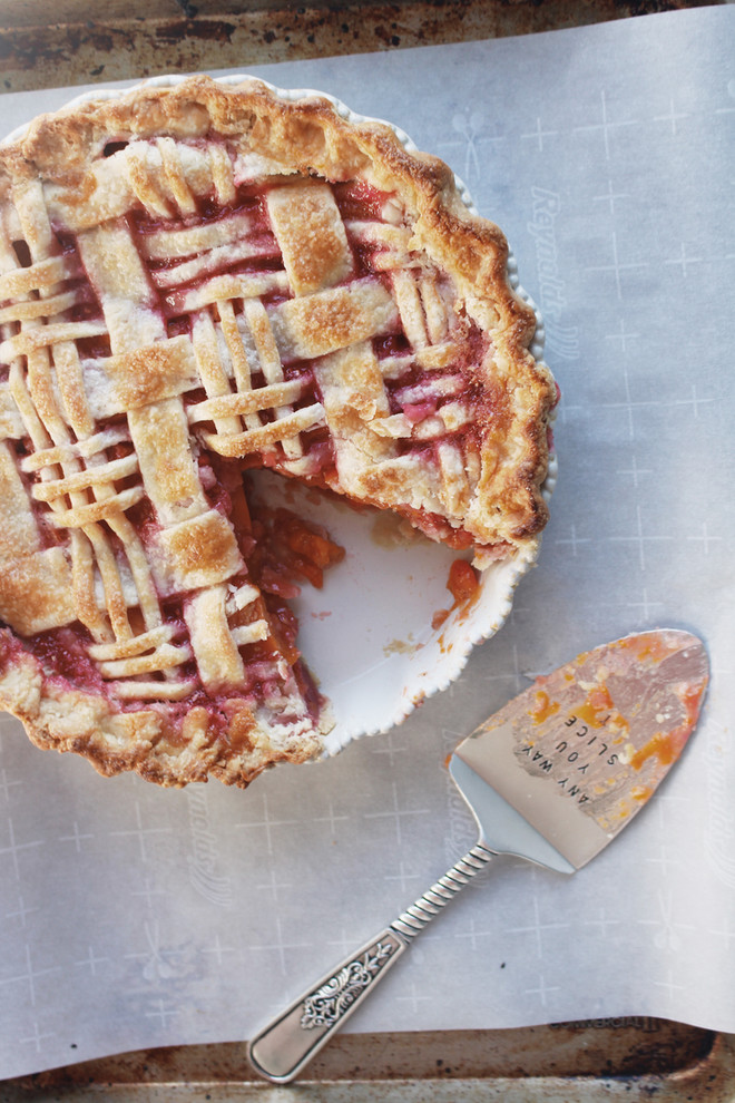 Raspberry Apricot Pie