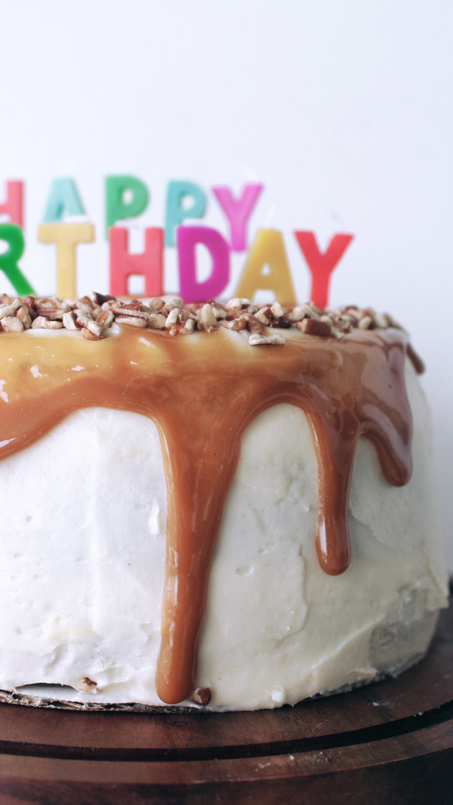 Caramel Carrot Cake