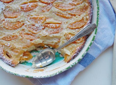 Honey Apricot Clafoutis