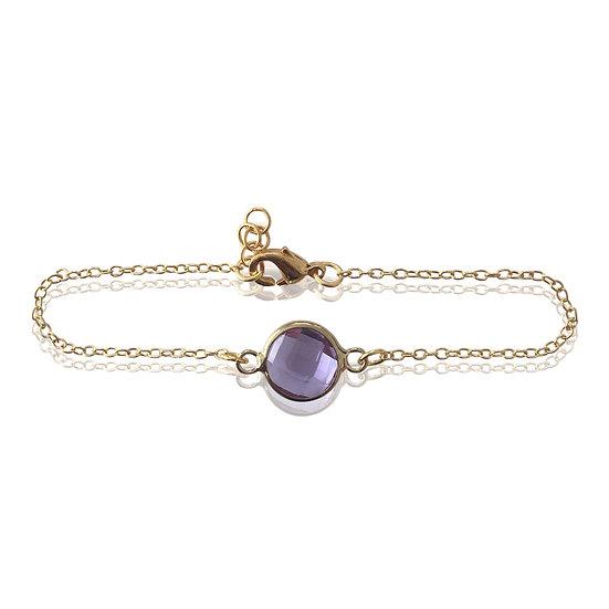 Purple Bella bracelet