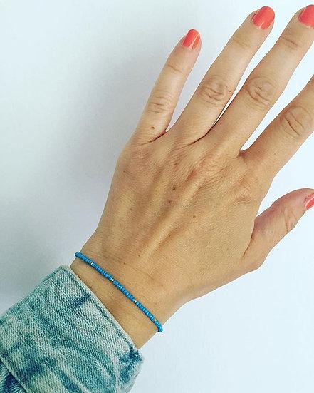 Basic light blue bracelet
