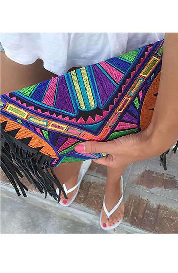 CodeStar Fringe - Tribal with Black Tassel