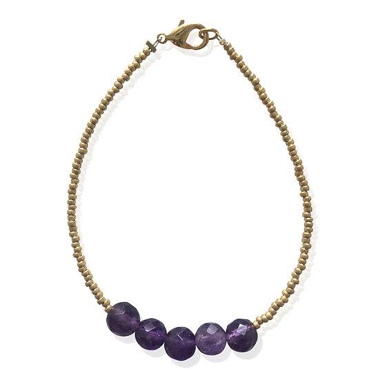 Purple Bibi bracelet