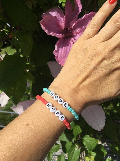 Bracelet of HOPE - summer edition