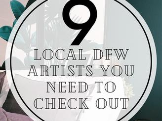 DFW Local Artist Roundup
