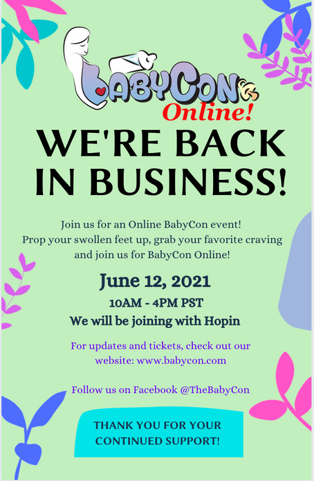 BabyCon goes Online!
