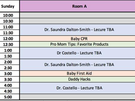 BabyCon Speaker Schedule Sneak Peak!