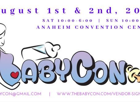 BabyCon date has been rescheduled!