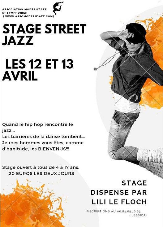 Affiche stage Street Jazz.JPG