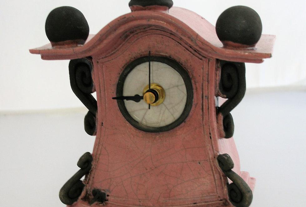 Stonesplitter Pink Clock