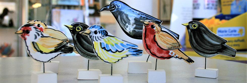 Louise Crookenden Johnson- Garden Bird Figurine