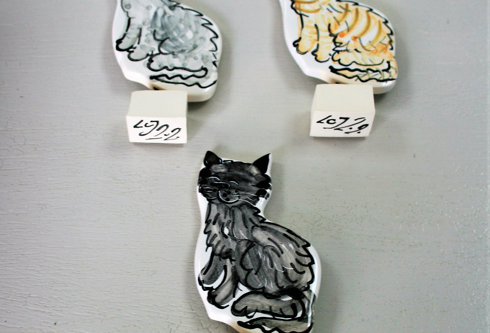 Louise Crookenden Johnson- Cat Figurine