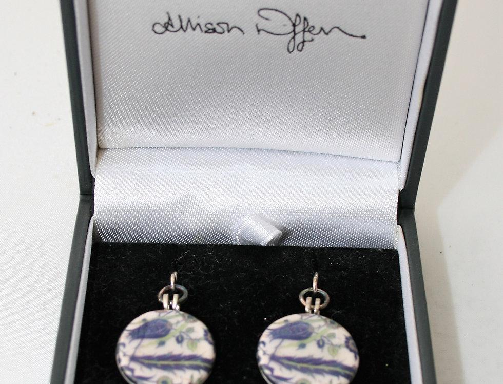 Alison Wiffen Ceramic Floral Earrings