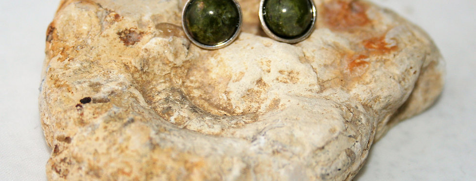 Helen West Rhyolite and Silver Studs