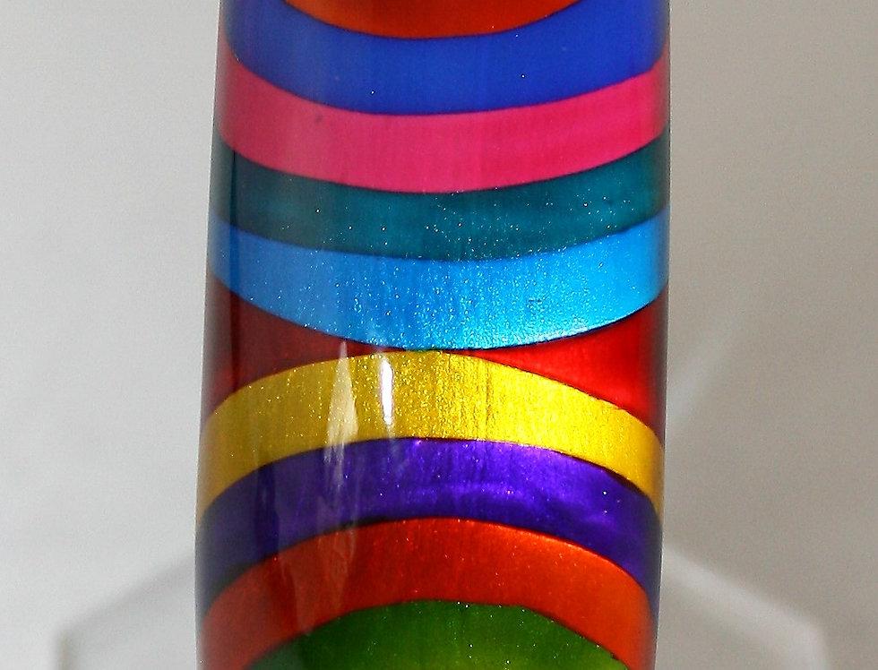 Rowena Park Acrylic Bright Rings Bangle