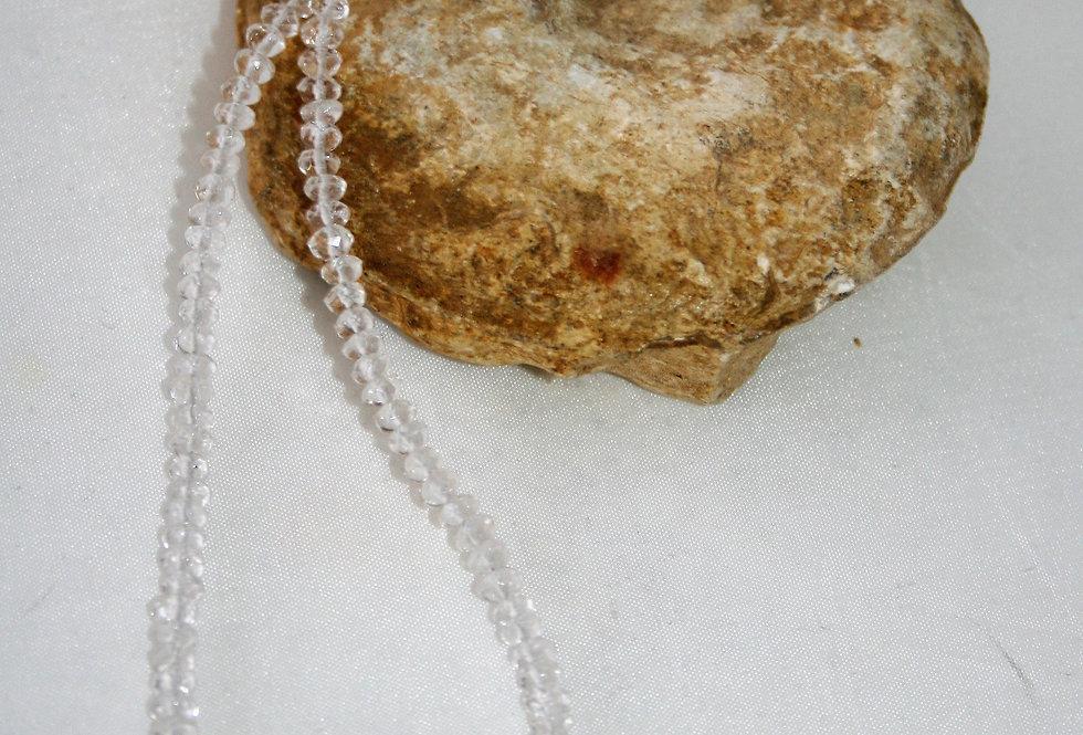 Helen West Rock Crystal Beaded Necklace