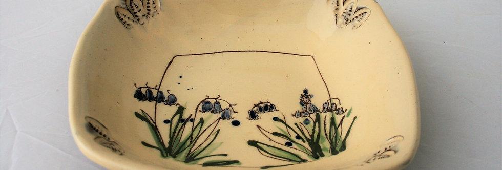 Michelle Lowe Bluebell Flat Bowl