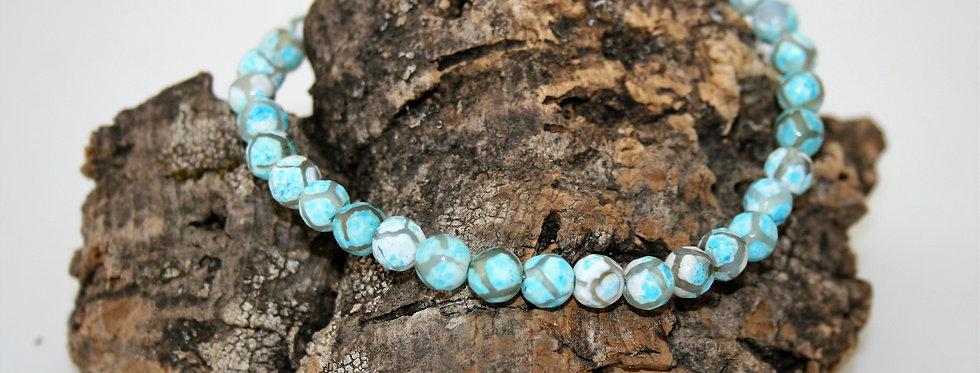 Helen West Blue Agate Bracelet