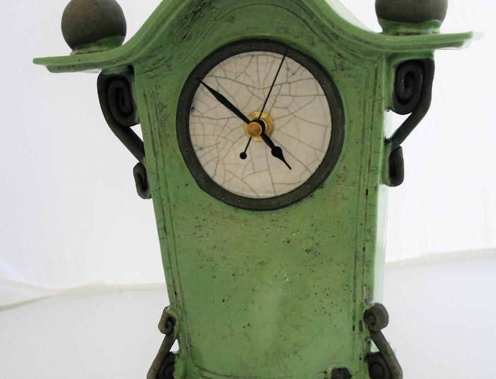 Stonesplitter Green Clock