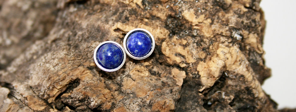 Helen West Lapis Lazuli and Silver Studs