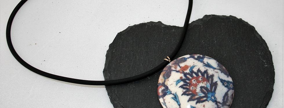 Alison Wiffen Ceramic Floral Pendant